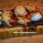 recette Tarte aux noix de St Jacques