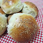 recette Boules de pain à la fleur d'oranger et beurre fermier