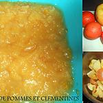recette COMPOTE POMMES CLEMENTINES