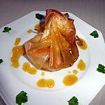 recette Croustillant gambas foie gras du blog cccuisine.over-blog.com