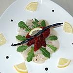 recette St Jacques au parfum de vanille du blog cccuisine.over-blog.com