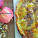 recette Chausson feuilleté aux pommes, bananes et spéculoos