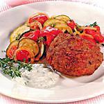 """recette Boulettes de viande au poivrons, sauce """"fromagère"""""""