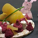 recette Betterave boule d'or, betterave rouge et framboises