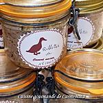 recette Rillettes de canard gras