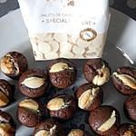 recette Minis muffins noir et blanc du blog cccuisine.over-blog.com