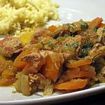 recette Cocotte de porc épicé