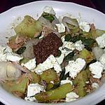 recette Pommes de terre en salade feta&thon
