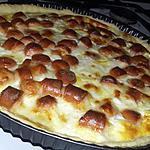 recette Tarte aux Knakis et mozzarella