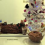 recette Bûche à la mousse chocolat