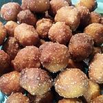 recette Gnocculi  ( gnocchi sucré frits )
