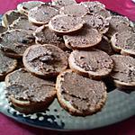 recette Crème d'olive à tartiner pour toasts de Doudou