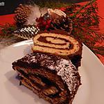 recette Bûche au chocolat Noël 2017