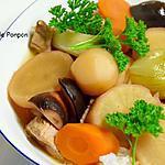 recette Filet mignon aux légumes et vermicelles de riz