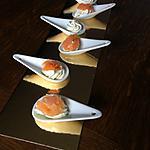 recette Cuillères apéritives mousse de boursin et saumon fumé