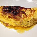 recette Omelette lardons- pomme de terre