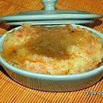 recette Purée de pomme de terre et carotte en mini-cocotte