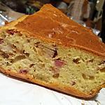recette Cake lardons-poulet panés-pâté