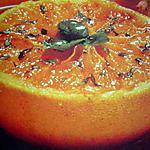 recette Pamplemousse en duo miel et basilic