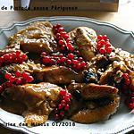 recette Chapon de Pintade Sauce Périgueux et ses Pommes Dauphines