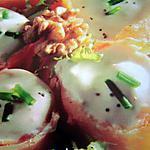 recette Nids au saumon
