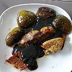 recette Foie Gras Poêlé aux Figues violettes de Normandie