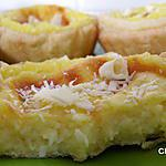 Petites tartelettes à la noix de coco