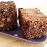 recette Sublime Brownie aux noix de pécan