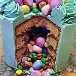"""recette Le gâteau surprise  qui fais Wahou  !!!         Un moment heureux et magnifique   """" des enfants   et   des  grands """""""