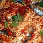 recette Linguines aux sardines a l huile d olive