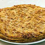 recette Galette des rois aux poires et caramel et beurre salé.