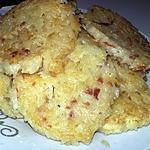 recette Galette de riz jambon fromage