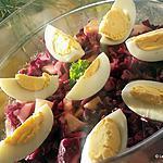 recette Salade de chou rouge et pomme