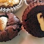 recette Muffins/Cupcakes aux deux chocolats