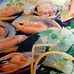 recette Moules citronées