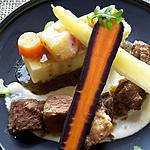recette Paleron mijoté  à la bière sauce raifort