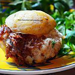 recette Pomme de terre farcie Gersoise au confit de canard
