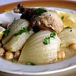recette MARKA OU TAJINE BEL BESBES / PLAT DE FENOUIL