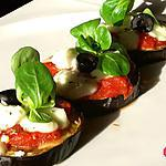 recette Pizz'aubergine