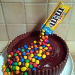 recette Gravity m&m's cake