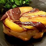 recette Tatin de pommes et magret fumé