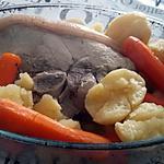 recette Rouelle de porc façon pot au feux