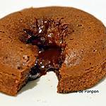 recette Moelleux au chocolat avec son coeur coulant