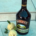 recette Glace au bailey