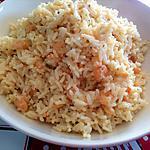 recette Risotto aux crevettes roses (restes de riz cuit)