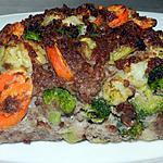 recette Pain de viande aux légumes d'hiver