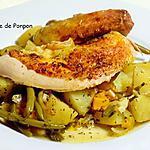 recette Pintadeau accompagné de ses légumes en sachet cuisson