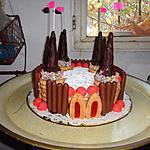 recette gâteau château de princesse pour les 6 ans de JADE