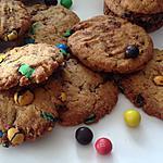 recette Cookies m&m's crispy