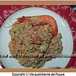 recette Quinoa aux crevettes et pamplemousse